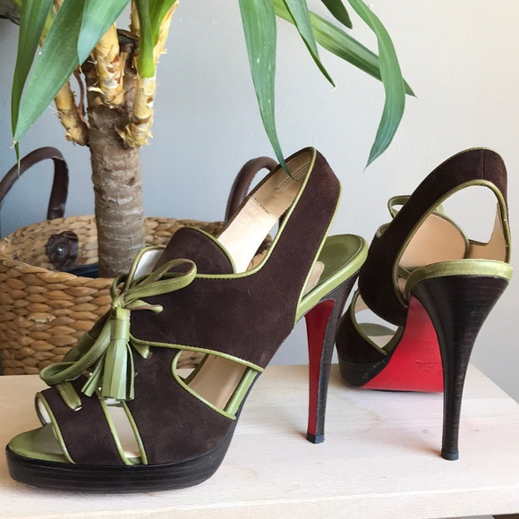 6396f143d46 Christian Louboutin Shoes - christian louboutin sometimes lace up sandals